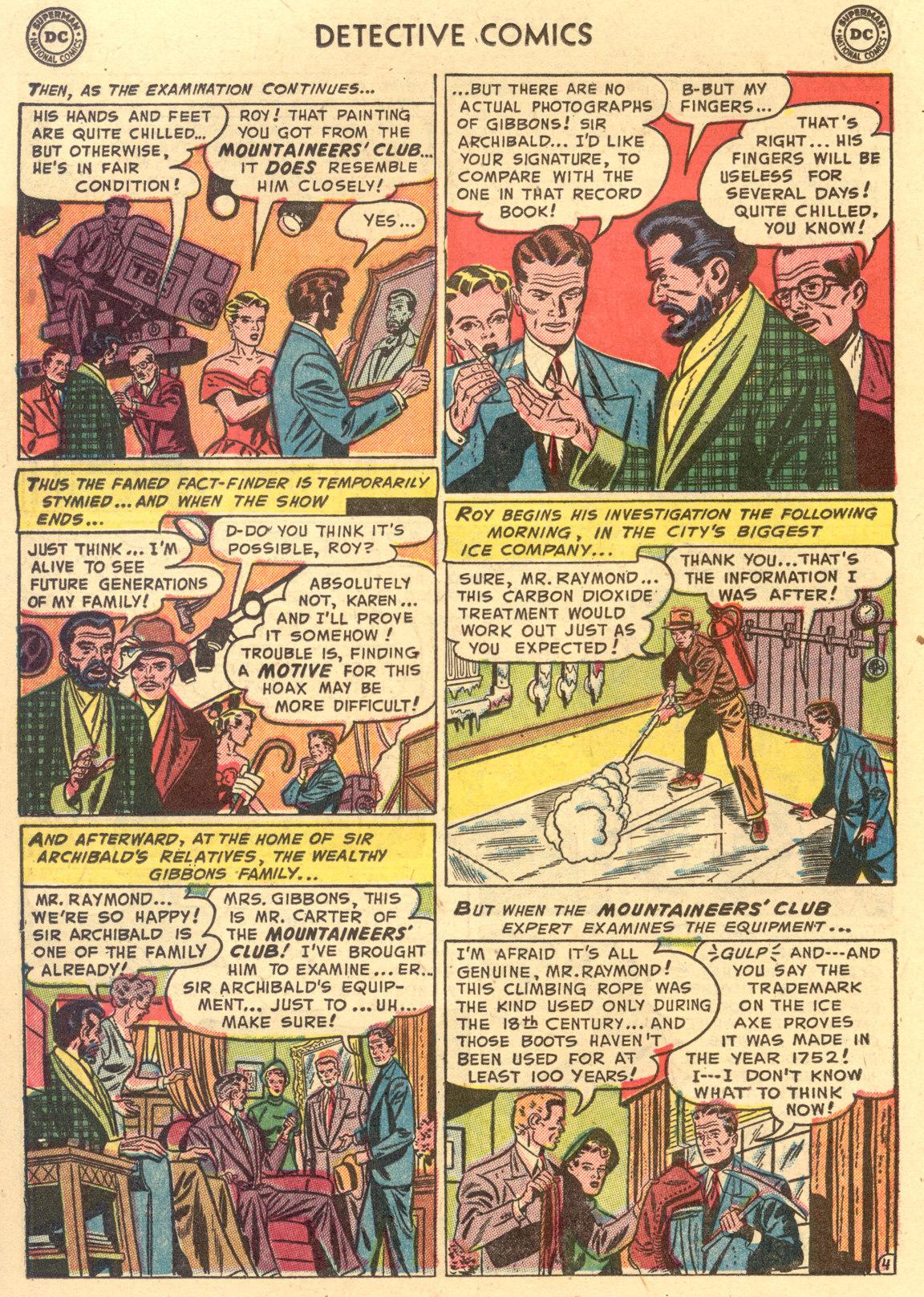 Read online Detective Comics (1937) comic -  Issue #194 - 20
