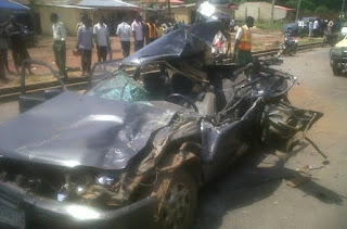 Car accident kills five pupils, injures two in Ogun