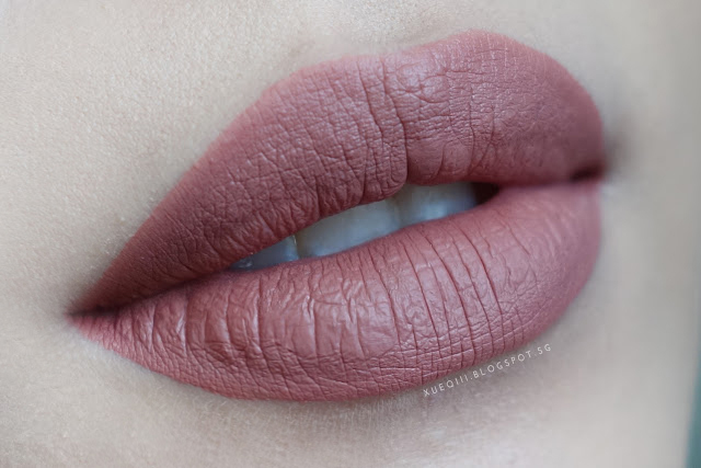 mocha color swatch liquid lipsticks review and swatches xueqis beauty episode