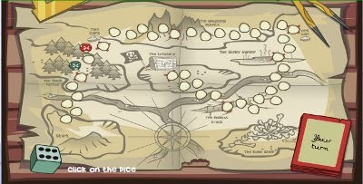 Let's Learn: The treasure map - free online board game for kids on online organization chart, online strategic plan, online classified, online references, online weather, online people profiles, online acronyms, online social profiles, online novels, online guide, online currency, online only, online crosswords, online world, online tips, online directories, online web, online quotes, online payroll, online math tools,