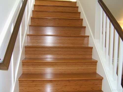 wooden stairs design paint