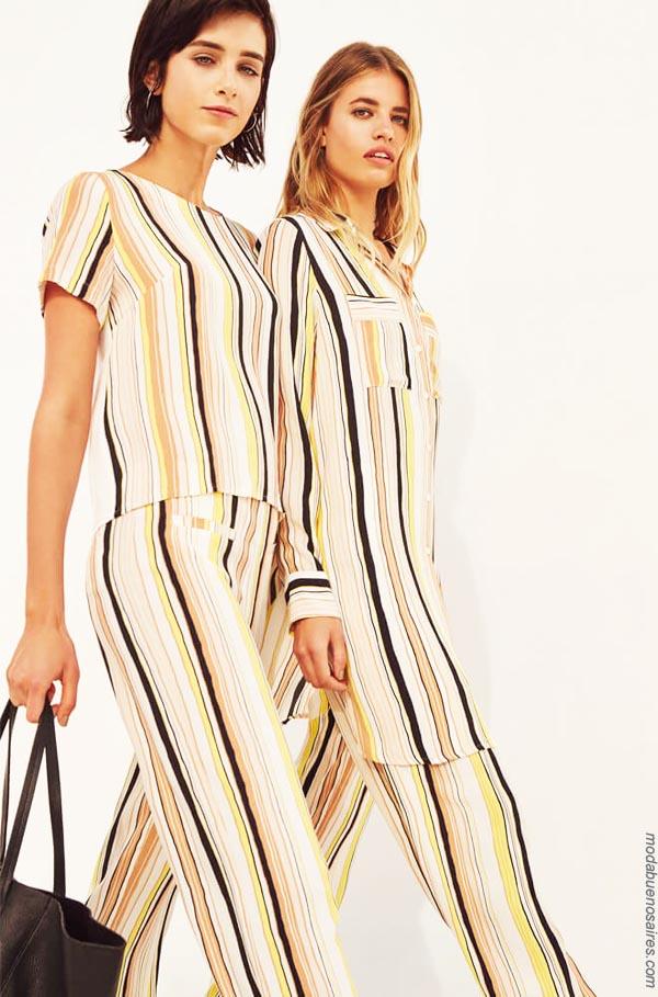 Blusas de moda 2019 ropa de mujer. │ Moda primavera verano 2019.