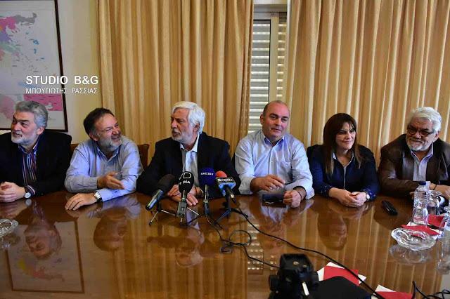 Π.Τατούλης για συνεργασία με τον ΣΥΡΙΖΑ: Είμαστε δυο διαφορετικοί κόσμοι - Πρέπει οι δυο κόσμοι να συνεργαστούν (βίντεο)