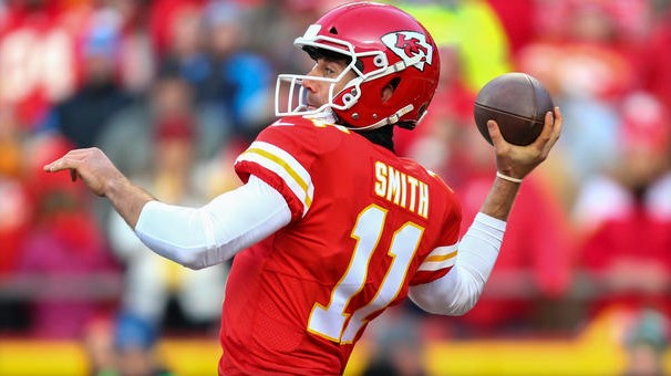 Alex Smith traded by Chiefs to Redskins