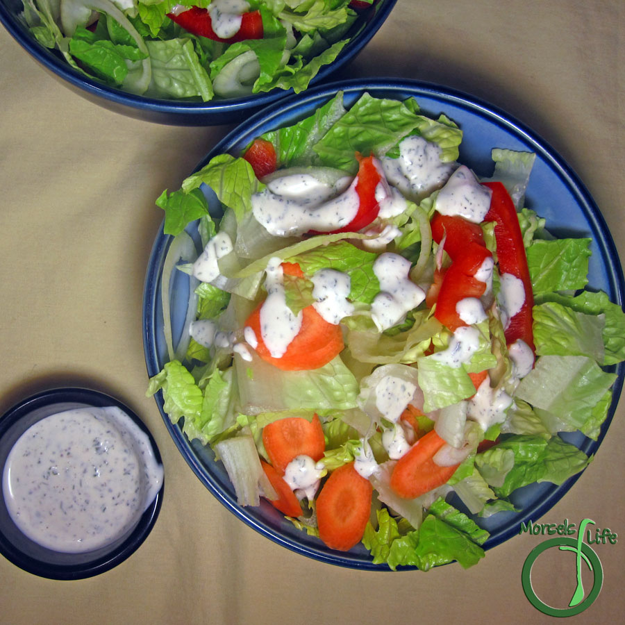 Morsels of Life - Ranch Dressing/Dip - Make this cheap, easy, and tasty Ranch dressing or dip and you'll never want to go back to store bought!