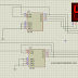 Compteur synchronne modullo 100 par CI 74LS90 deux aficheur