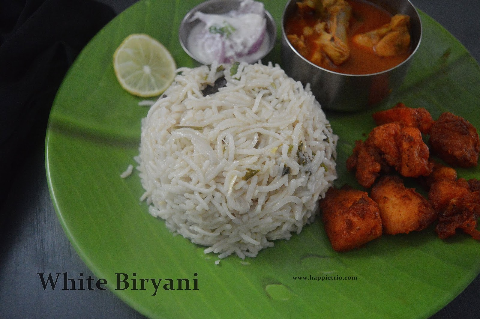 White Chicken Biryani Recipe | Kongunadu Vella Biryani