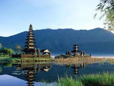 Bali Island from java island port.