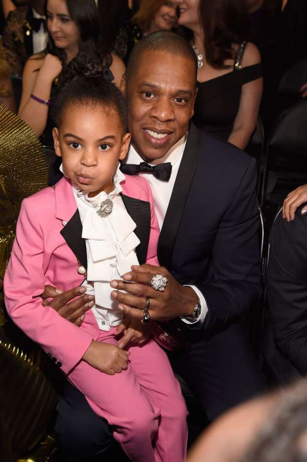 Blue Ivy's adorable pink Grammys outfit pays tribute to Prince