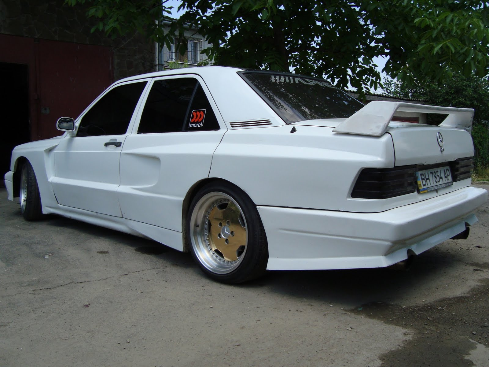 mercedes benz 190e w201 widebody benztuning. Black Bedroom Furniture Sets. Home Design Ideas