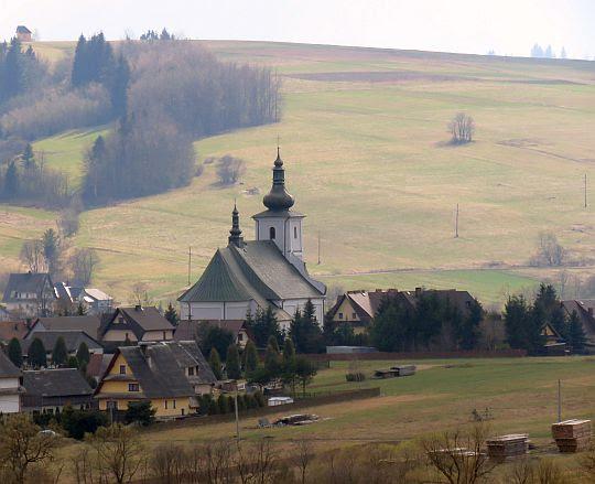 Kościół św. Marcina w Podwilku z 1767 roku.