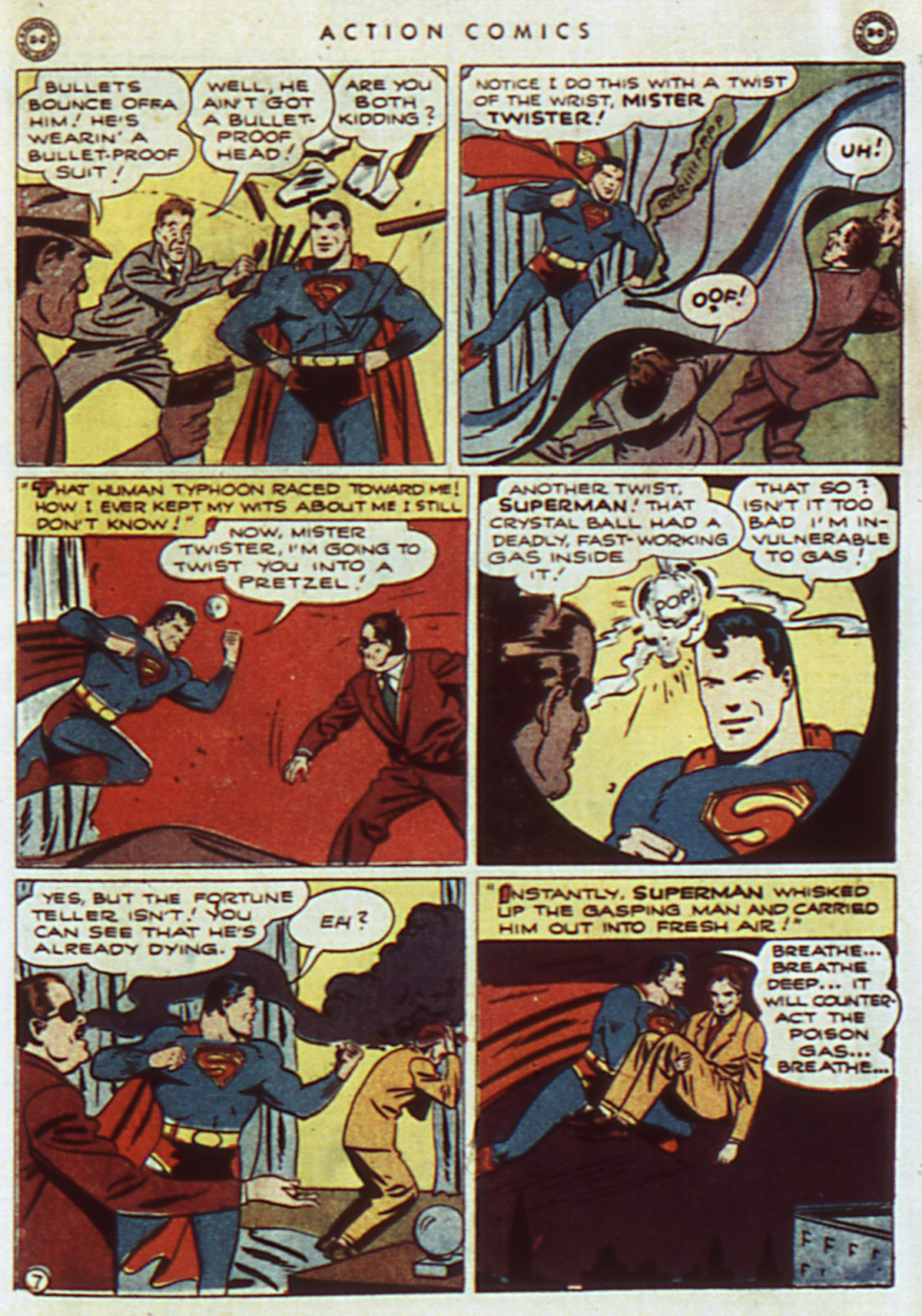 Read online Action Comics (1938) comic -  Issue #96 - 9