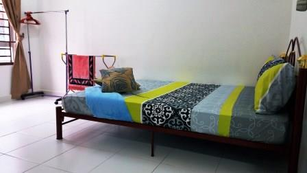 Bilik Tidur Keempat Homestay di Johor Bahru