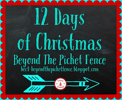 12 days of Christmas, http://bec4-beyondthepicketfence.blogspot.com/2015/12/12-days-of-christmas-day-8-woodland.html