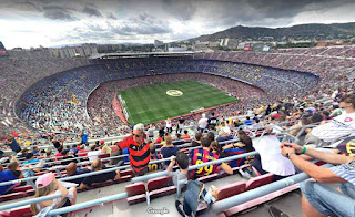 Camp Nou is the stadium of FC Barcelona