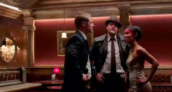 James Gordon, Harvey Bullock y Fish Money en Gotham 1x02