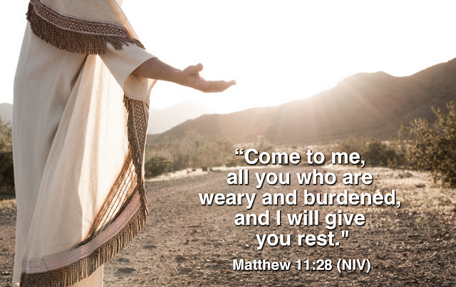 Image result for Matthew 11:28