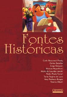 livro fontes históricas promoção pdf download