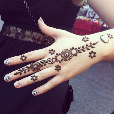 latest eid mehendi designs for hands