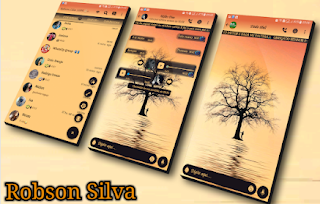 Beautiful Landscape Theme For GBWhatsApp By Robson