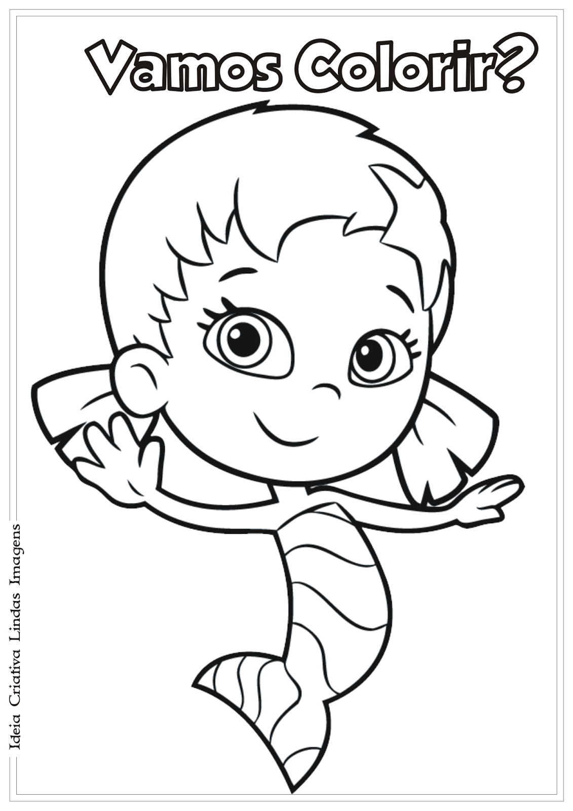 molly bubble guppies coloring pages-#28
