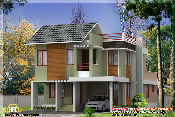 1850 square feet home design elevation
