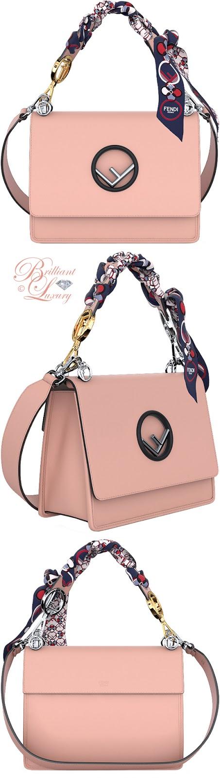 Brilliant Luxury ♦ Fendi customisable Kan I F bag