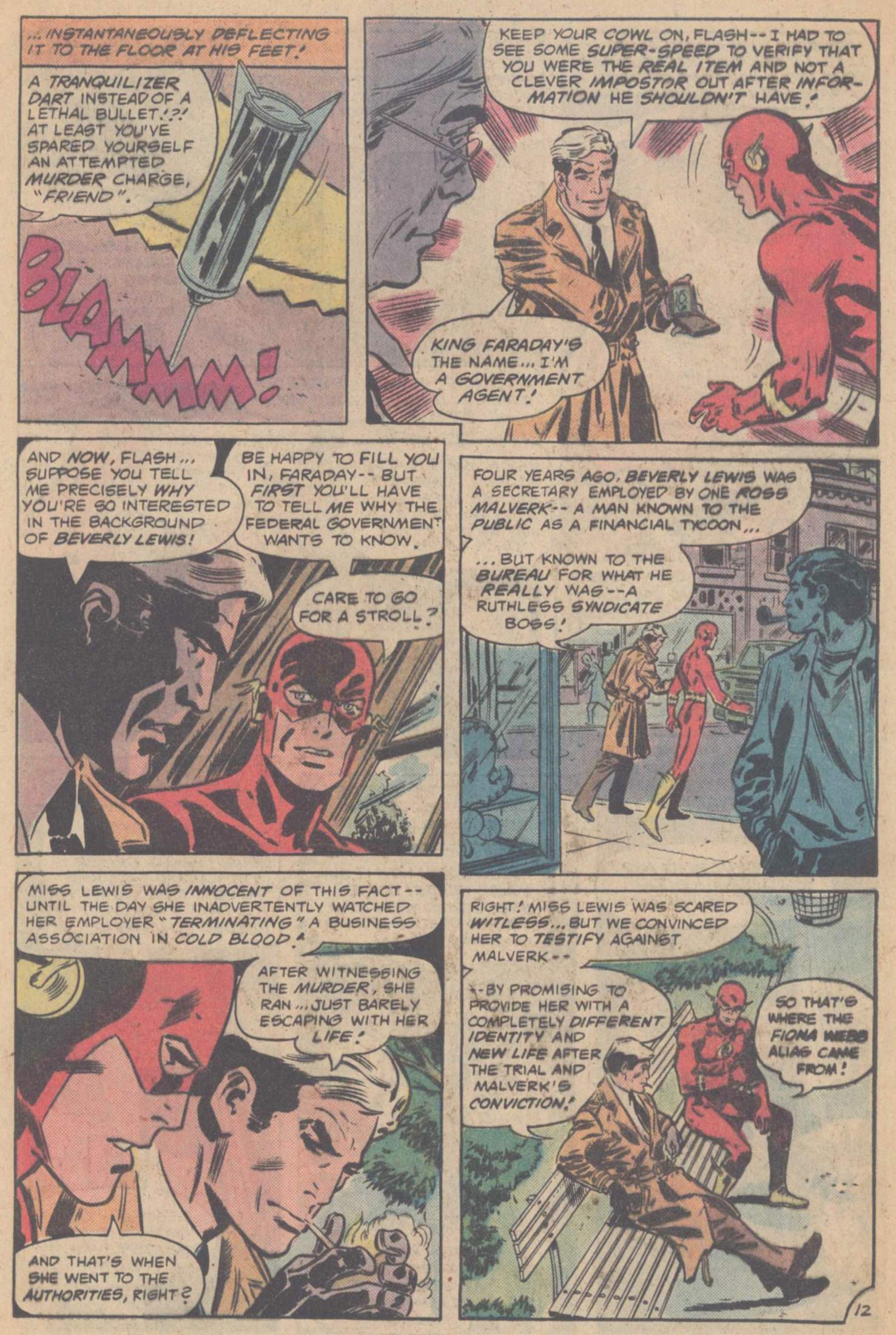 Comic The Flash (1959) issue 187