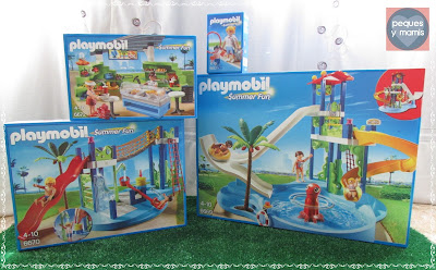 Pequesymamis mega parque acu tico de playmobil - Playmobil piscina ballena ...