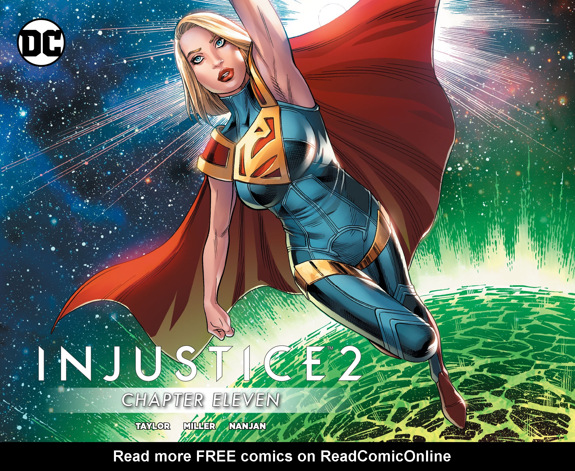 Read online Injustice 2 comic -  Issue #11 - 1