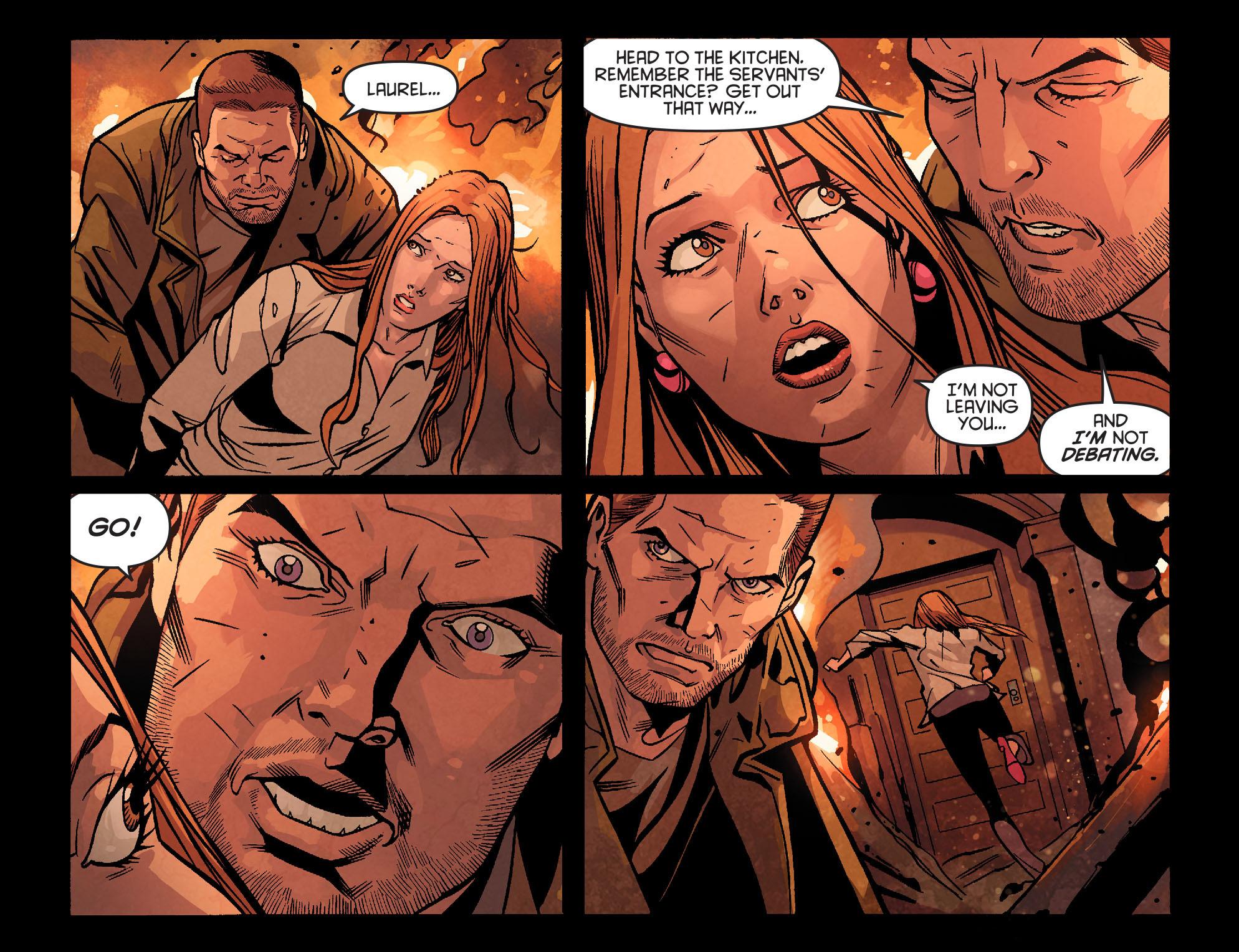 Read online Arrow: Season 2.5 [I] comic -  Issue #22 - 10