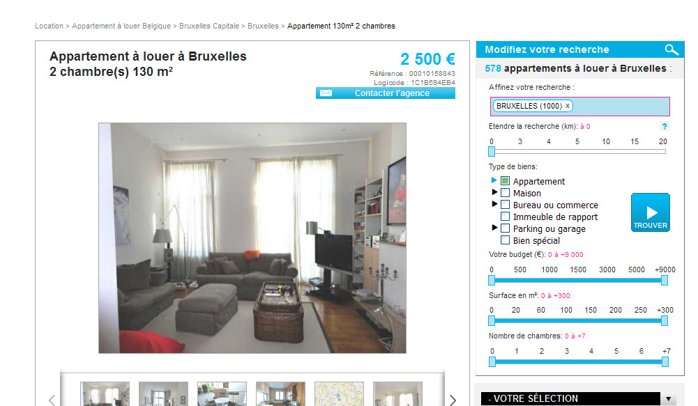 L genhet uthyres stockholm for Appartement a louer immo