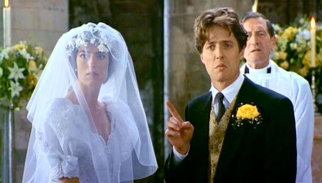 Duck Face at the alter - Four Weddings And a Funeral