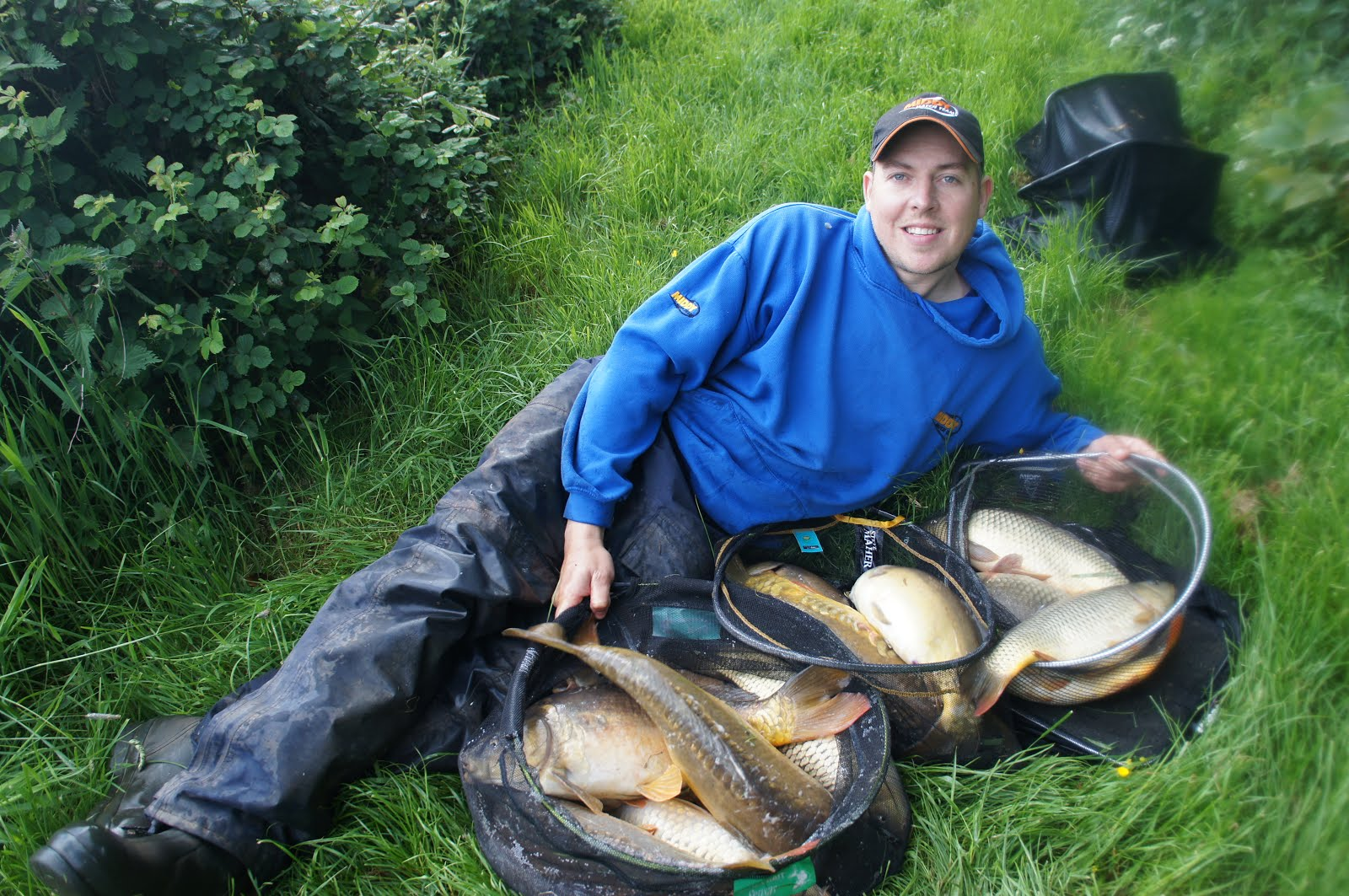 Great carping on a premier Greenhill AC water