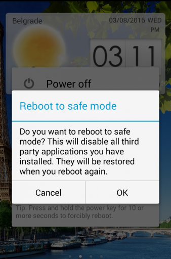 How to Boot Android into Safe Mode 2