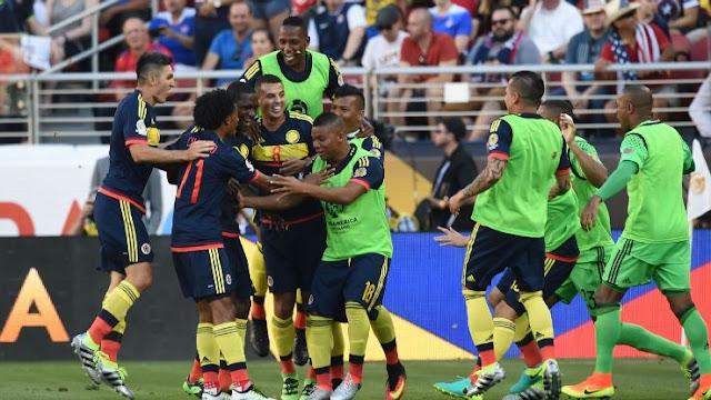 USA 0-2 Kolombia : Tuan Rumah Canggung
