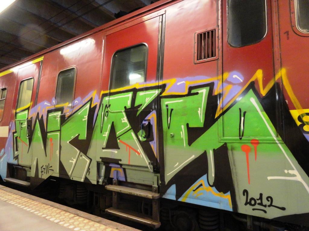 Wcas Graffiti Train