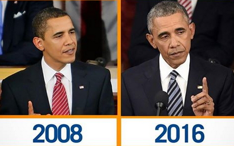 obama aging fast