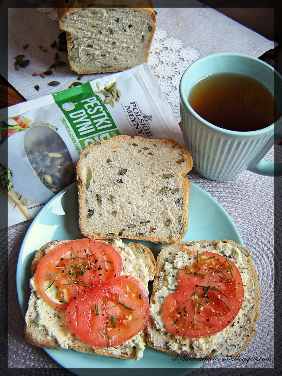 dyniowy chleb z pestkami dyni