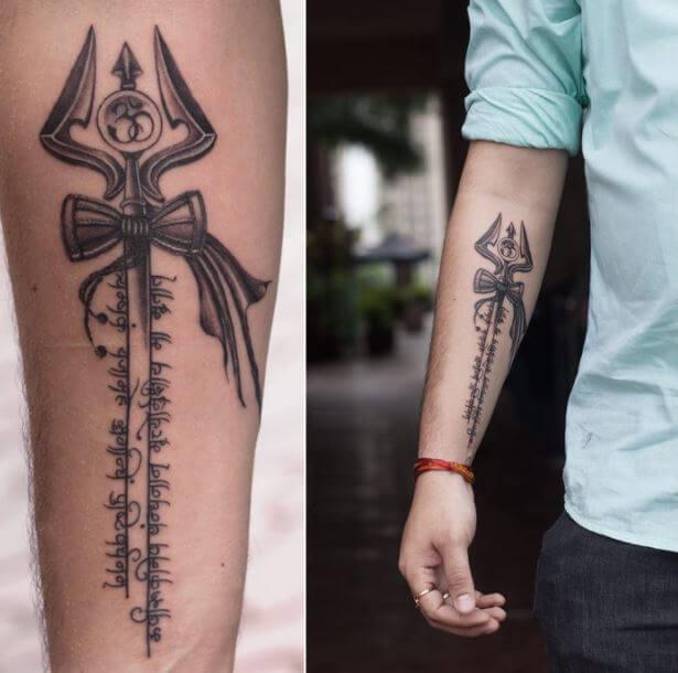 150+ Angry Lord Shiva Tattoos For Men (2019) Trishul \u0026 Om