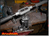 threading aluminum casting