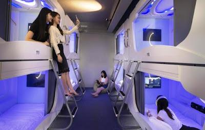 6 Tips Liburan Murah ke Jepang Dengan Promo Air Asia - Hotel Kapsul di Jepang