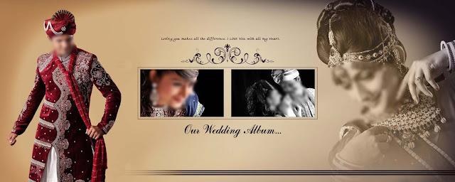 Indian Wedding Album Templates