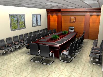 Bàn ghế phòng họp lớn, cao cấp