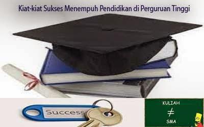 Kiat-kiat Sukses Menempuh Pendidikan di Perguruan Tinggi