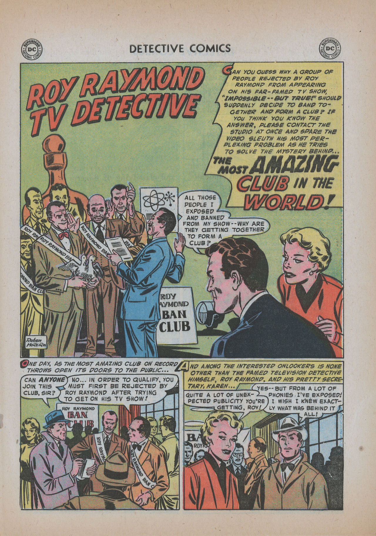 Read online Detective Comics (1937) comic -  Issue #219 - 27