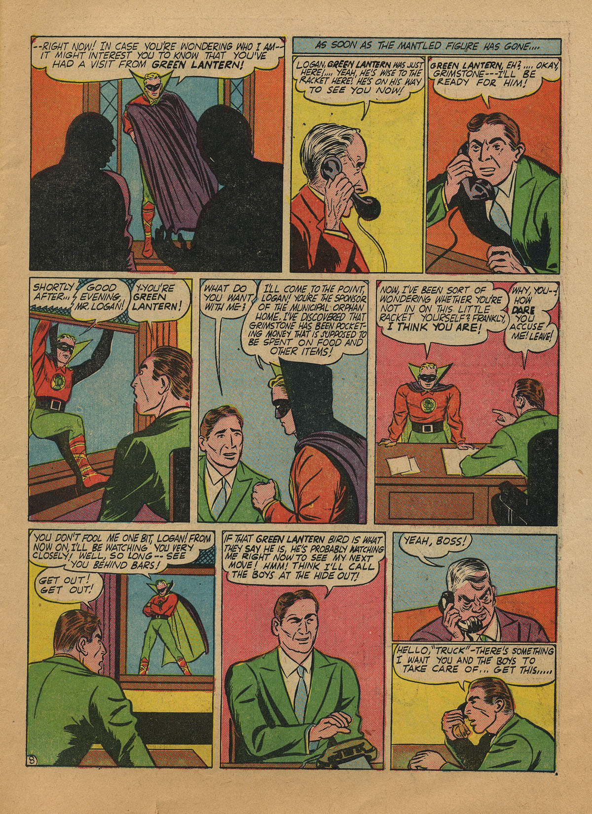 Read online All-American Comics (1939) comic -  Issue #31 - 11