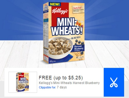 Mini-Wheats Free Harvest Blueberry Cereal