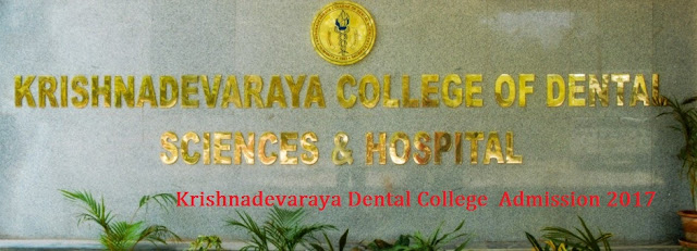 Direct admission in Krishnadevaraya Dental College Bangalore