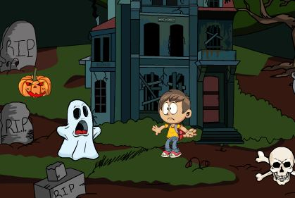 Play Games2Jolly Boy Rescue From Ghost